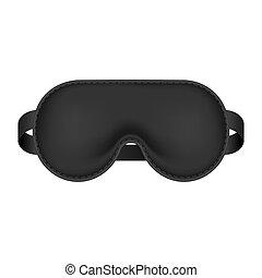 realistyczny, sypialna maska, blindfold.