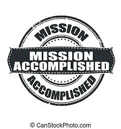 realizado, missão