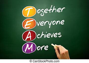 realizza, everyone, insieme, più