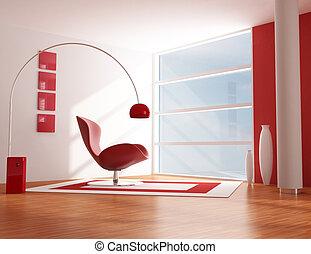 realx, kamer, rood
