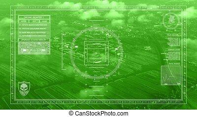 Drone reconnaissance