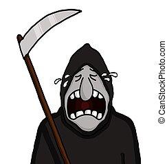 Reaper, severo, chorando