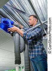 Reapiring cooling system