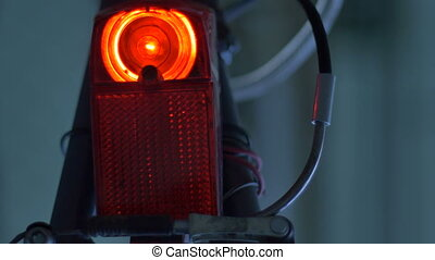 Rear Bicycle Tail Light