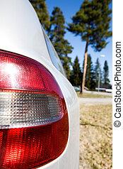 Rear Car Light