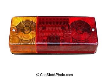 Rear light of a truck