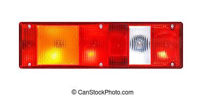 Rear light of a truck