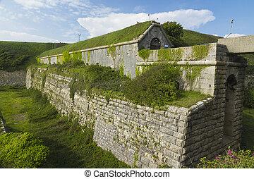 Rear of the Verne Citadel, Victorian UK - The Verne Citadel ...