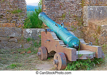 cannon over walls