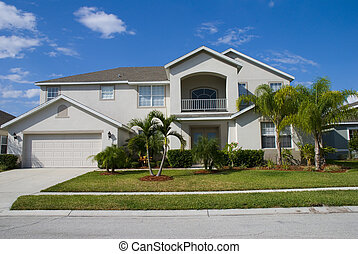 Reasl Estate7 - Rural Home on a sunny day in Florida