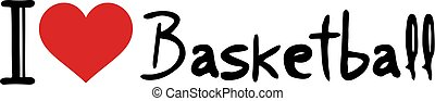 Basketball love message - reative design of Basketball love ...
