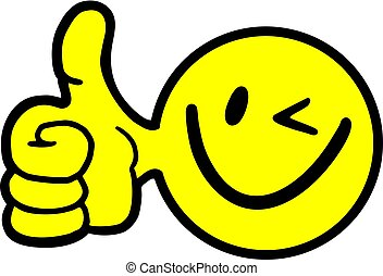 happy win icon face - reative design of happy win icon face