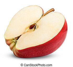 rebanada, manzana