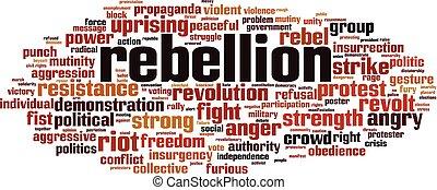 Rebellion word cloud