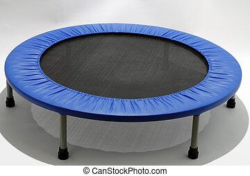 rebounder, mini, trampolín