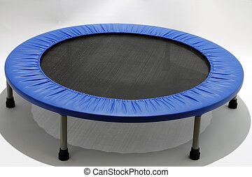 Rebounder, Mini Trampoline - Low impact exercise equipment...