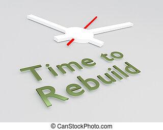 rebuild, fogalom, idő