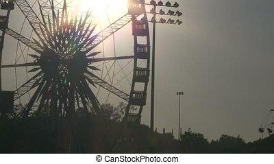 REC-0022-Ferris Wheel Timelaps