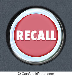 Recall Car Ignition Button Vehicle Repair Fix Defective Lemon