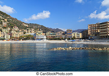 Recco waterfront, Italy