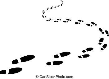 footprints clipart and stock illustrations 19 262 footprints vector rh canstockphoto com Footprint Clip Art Free Downloads human footprint clipart free