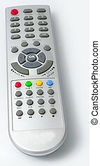receiver Remote control from front