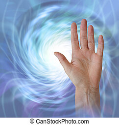 Receiving Healing Life Force Energy Pranic Concept