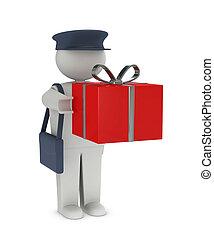 receiving, regalo