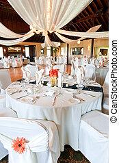 recepción wedding, vestíbulo