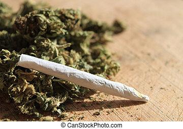 recept, marihuana