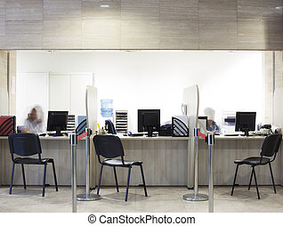 reception information center - A reception or an information...