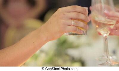 Reception on wedding