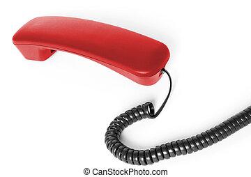 receptor vermelho telefone
