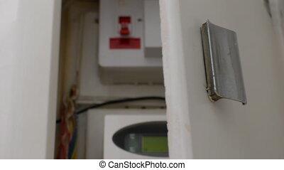 Recessed smart electric meter box