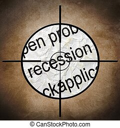 recessie, doel, concept
