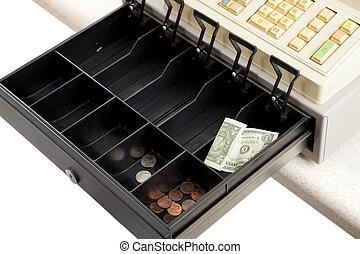 Recession - Empty Cash Register