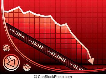 Recession on graph