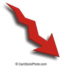 recessione, economia