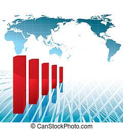 recessione, economia mondo