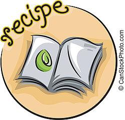 receta, icono
