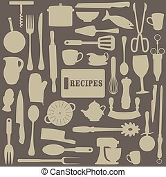 recettes, illustration