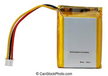 rechargeable, lithium, batterij, elektronisch, artikelen & hulpmiddelen, moderne
