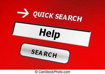 recherche, aide