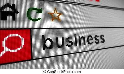 recherche, business, internet
