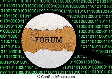 recherche enchaînement, forum
