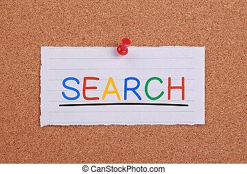 recherche, internet