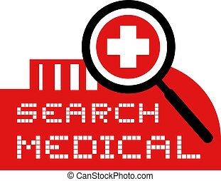 recherche, monde médical