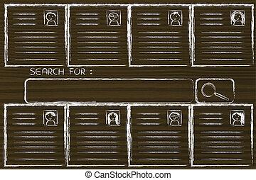recherche, pour, les, parfait, candidat, cv, base données