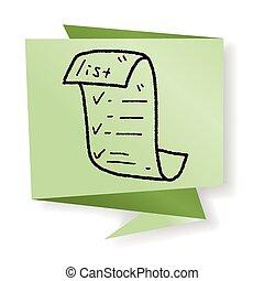 skizze quittung icon website skizze hintergrund. Black Bedroom Furniture Sets. Home Design Ideas