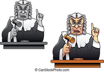 rechter, gavel